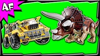 Lego TRICERATOPS TRAPPER 5885 Stop Motion Build Review