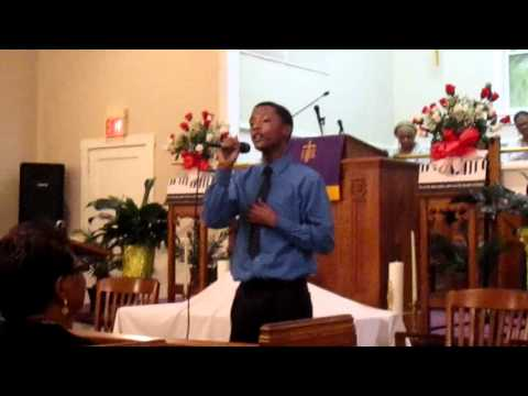 My Life Is in Your Hands Kirk Franklin cover by Tre'Von Waters
