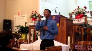 My Life Is in Your Hands Kirk Franklin cover by Tre