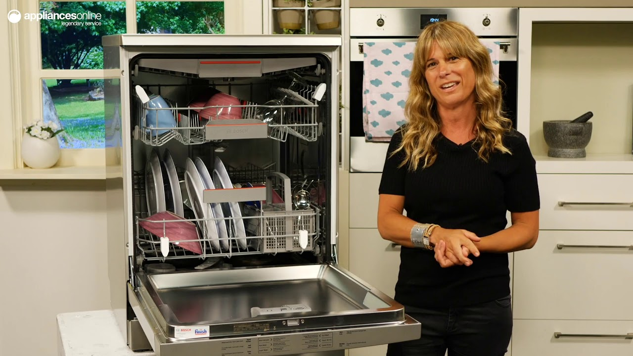 Product Review: Bosch SMS66MI02A Serie 6 Freestanding Dishwasher
