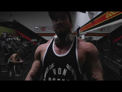 Chest workout with Calum von Moger