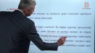 49) Klimatoloji - Nemlilik ve Yağış - I - Mehmet Zor (2017)