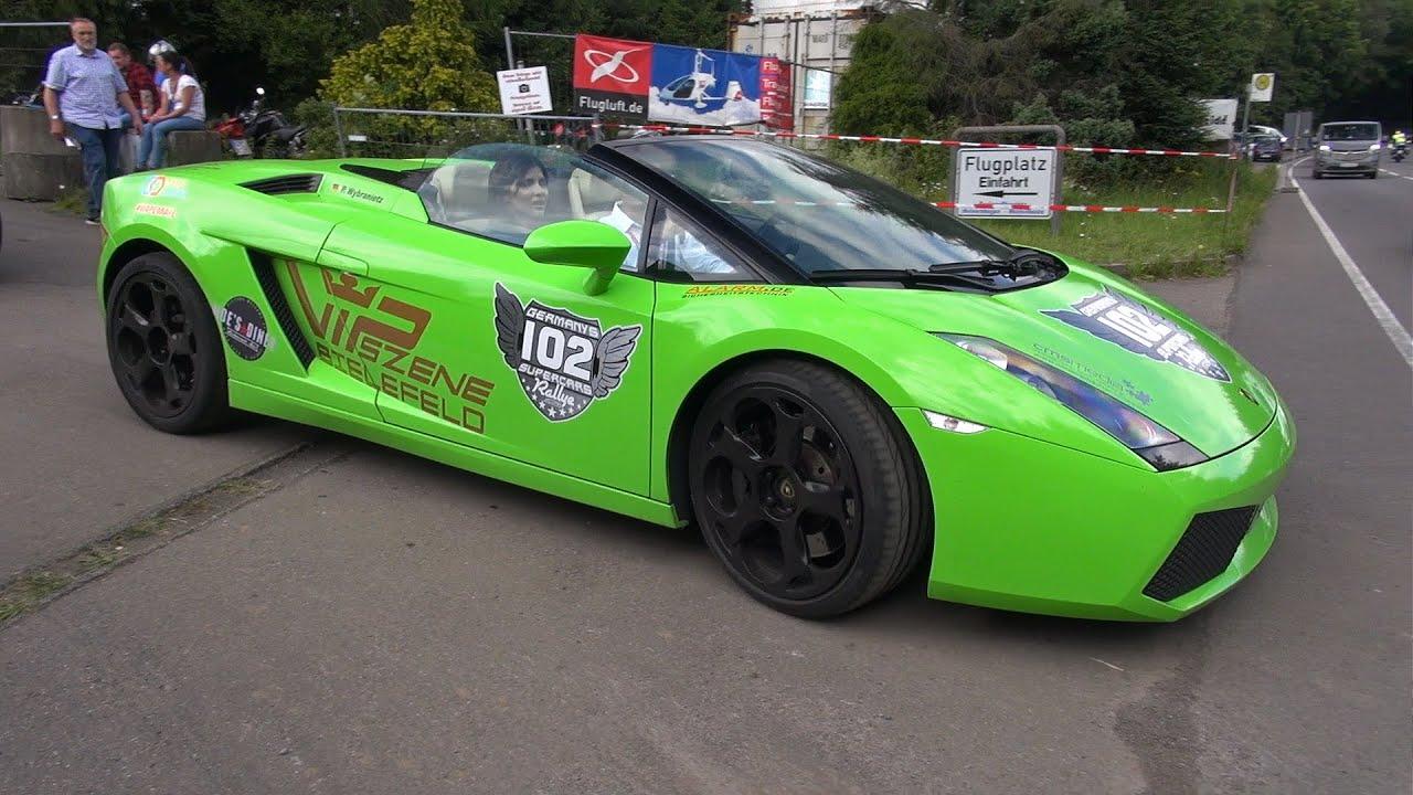 lamborghini gallardo spyder with acceleration problems - Lamborghini Gallardo Spyder Green