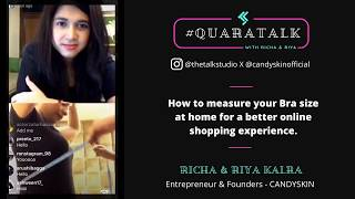 #QuaraTalk Masterclass: How to measure your bust to shop lingerie online.