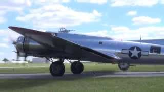 WWII Weekend 2014 - B-17 Yankee Lady rides - Friday