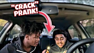 "CONVINCING MY FRIEND TO DO ""CRACK"" (PRANK!) *HE ACTUALLY DID IT*"
