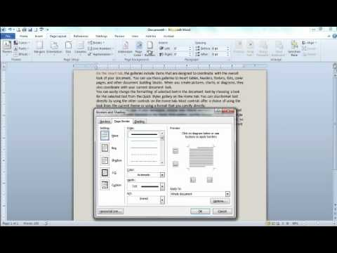 word processing tutorial part 1