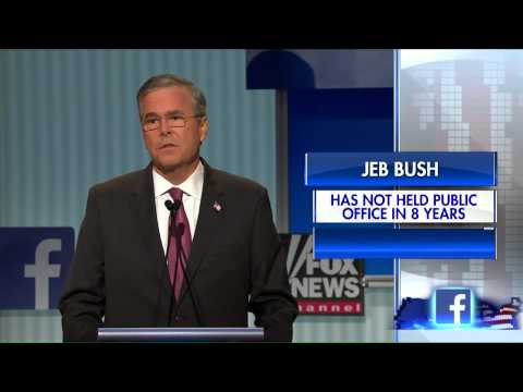 Jeb Bush: In Florida, they called me