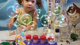 Обзор 150 опытов. Делаем мыльные пузыри. Рисуем мыльными пузырями. Play and draw soap bubbles.
