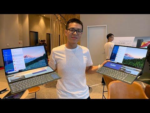 Preview – ASUS ZenBook Pro Duo UX581 โน้ตบุ๊คจอ 15.6″ + 14″ ในเครื่องเดียว สุดล้ำ สเปก i9 + RTX 2060
