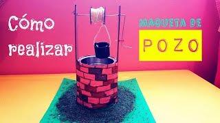 Cómo hacer maqueta pozo funcional - Proyecto