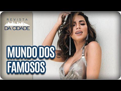 Anitta, Ximbinha e Cauã Reymond - Revista da Cidade (10/03/2017)