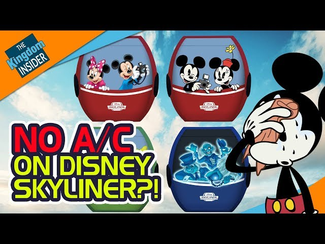 NO AIR CONDITIONING on Disney Skyliner?! | TKI Disney Newscast