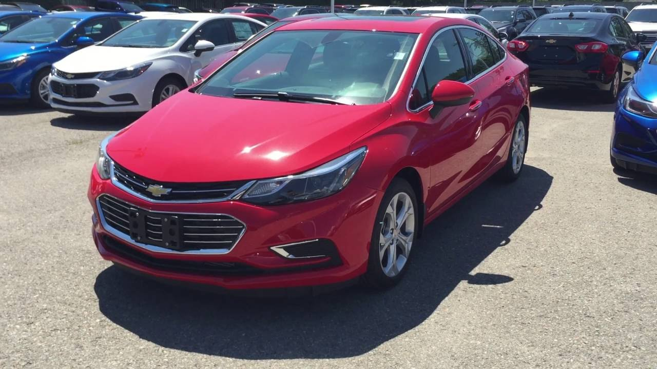 2017 Chevrolet Cruze Premier Red Hot Roy Nichols Motors Courtice On