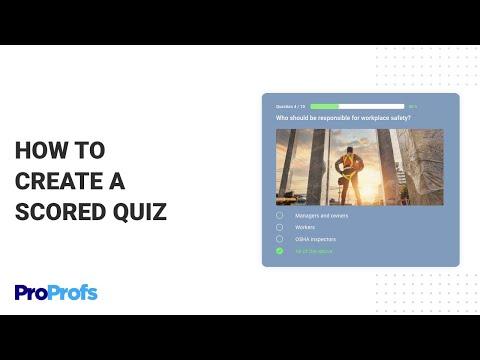 ✔️Online Quiz Maker Software to Create Free Quizzes   ProProfs