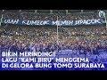 "Bikin Merinding Lagu ""kami Biru"" Menggema Di Gelora Bung Tomo Surabaya"