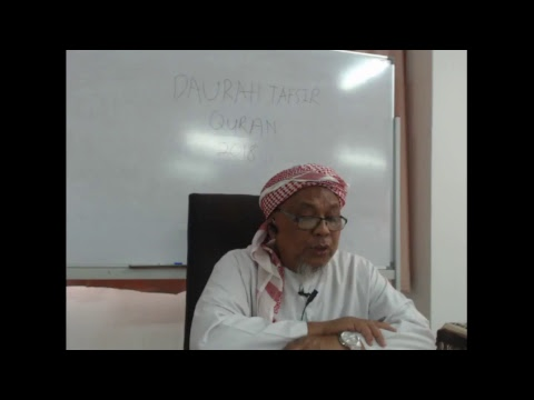 Download DAURAH TAFSIR  QURAN DI MADRASAH TAFSIR SUNNAH 2018 SESI2  PTG  ( 29-4-18)