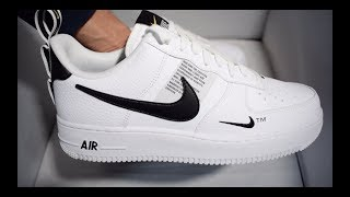 Nike Air Force 1 Utility Low White Unboxing / Link to buy in description