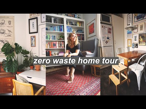 MY NEW (SECOND HAND) HOME // zero waste apartment tour