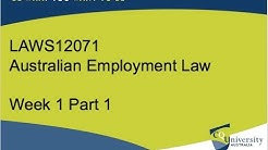 Introduction - Sources of Employment Law
