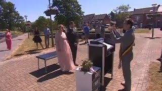 Belgium. esküvő vendégekkel