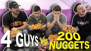 We Bought All The Chicken Nuggets From Wendy's W/ Christian Seavey & Oscar Guerra