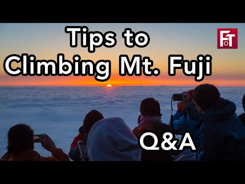 Tips For Climbing Mt. Fuji For Beginners - Answering Your Questions!