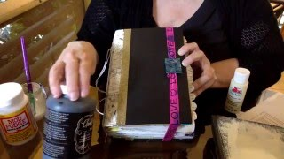 Скачать Easy How To Make Junk Journal Using An Old Book Cover
