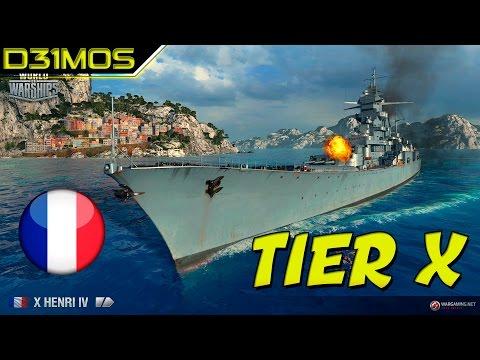 World of Warships: TIER X! FRANCÊS HENRI IV!