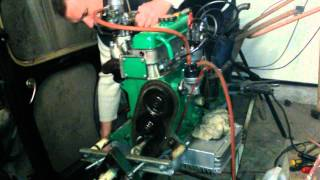 Premier demarrage moteur 4 cv