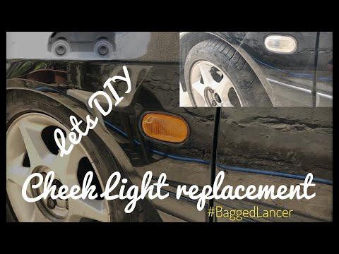 Mitsubishi Lancer/Cheek Light replacement/ DIY series /Part 1