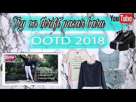Tryon Thrift haul pasar baru 2018