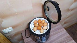 Как сварить яйца в мультиварке сколько минут какой режим