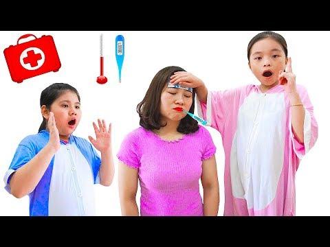 Sick Song Nursery Rhymes Mommy Songs 病気の歌 Thoc Kid TV