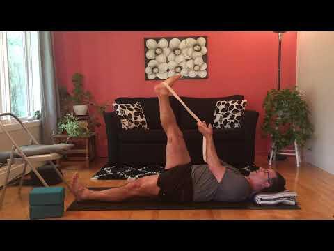 Yoga pour le mal de bas de dos dû au vélo