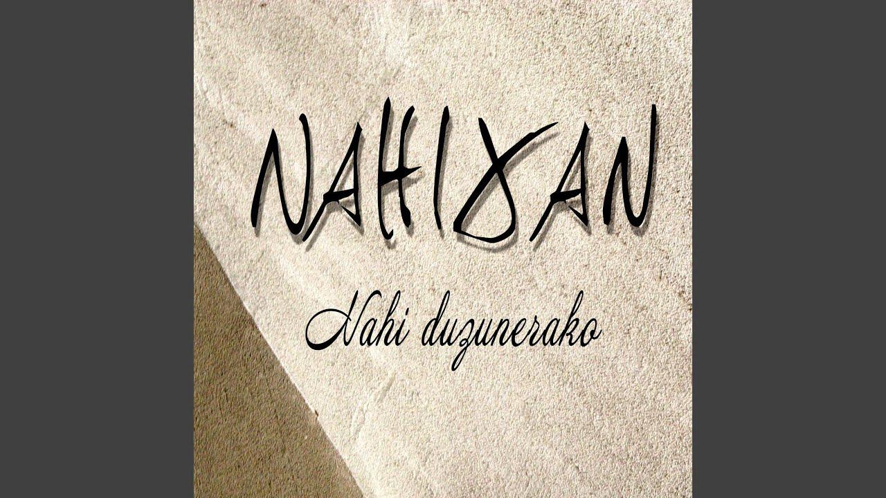 nahixan nahi duzunerako