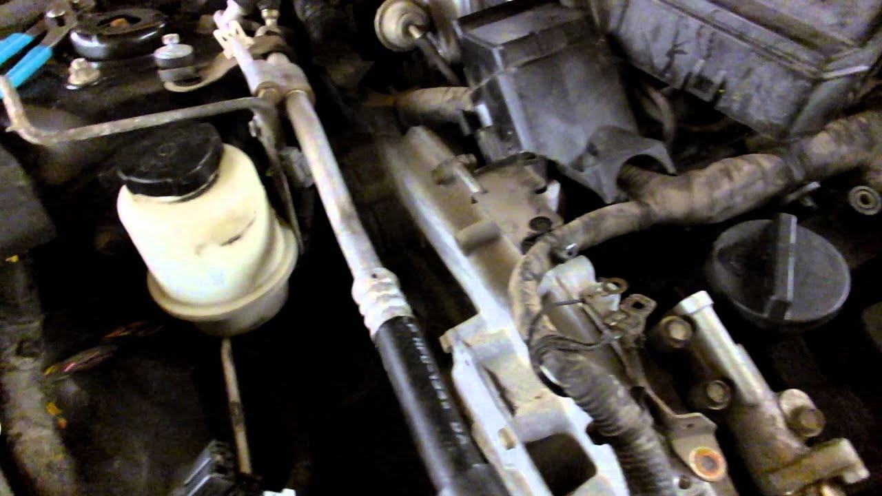 2014 Nissan Altima >> Nissan 3.5 Altima Maxima timing chain cover removal Part 1 ...