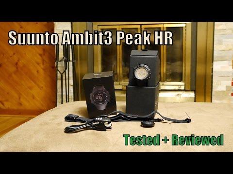 Suunto Ambit3 Peak Tested + Reviewed