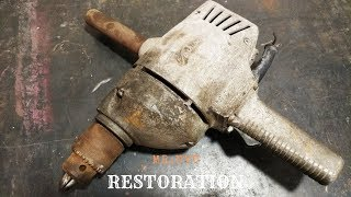 1964s Electric DRILL Restoration | Very Old TOSHIBA Drill Restoration