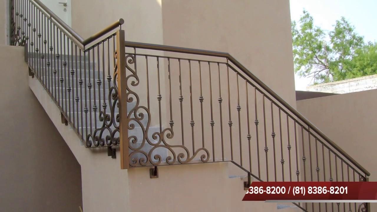 Protectores barandales puertas forja y cocheras - Adornos de pared de forja ...