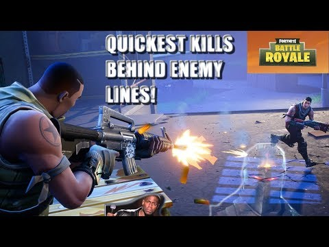 LANDING BEHIND ENEMY LINES 50V50!! | Fortnite Battle Royale