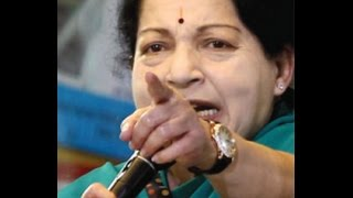 Jayalalithaa Unseen Angry Speech in Assembly