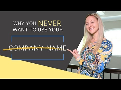 Prospecting Tips - Why I Never Use My Company Name When Prospecting   Episode 57