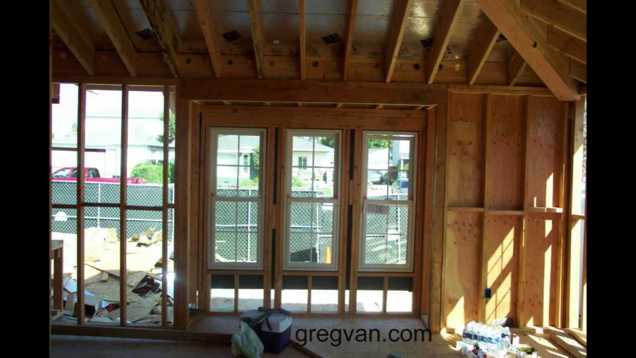 different ways to frame a window home construction and framing youtube
