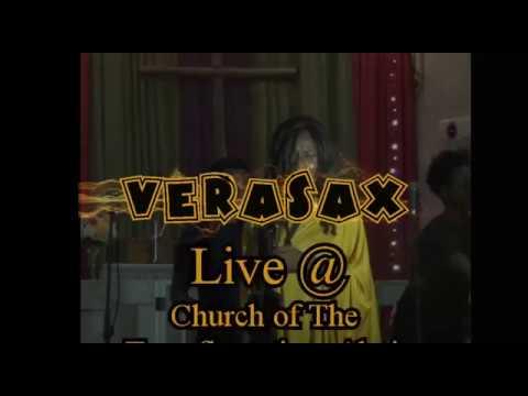 Best female Nigerian saxophonist, verasax  live at church of the transfiguration Abuja