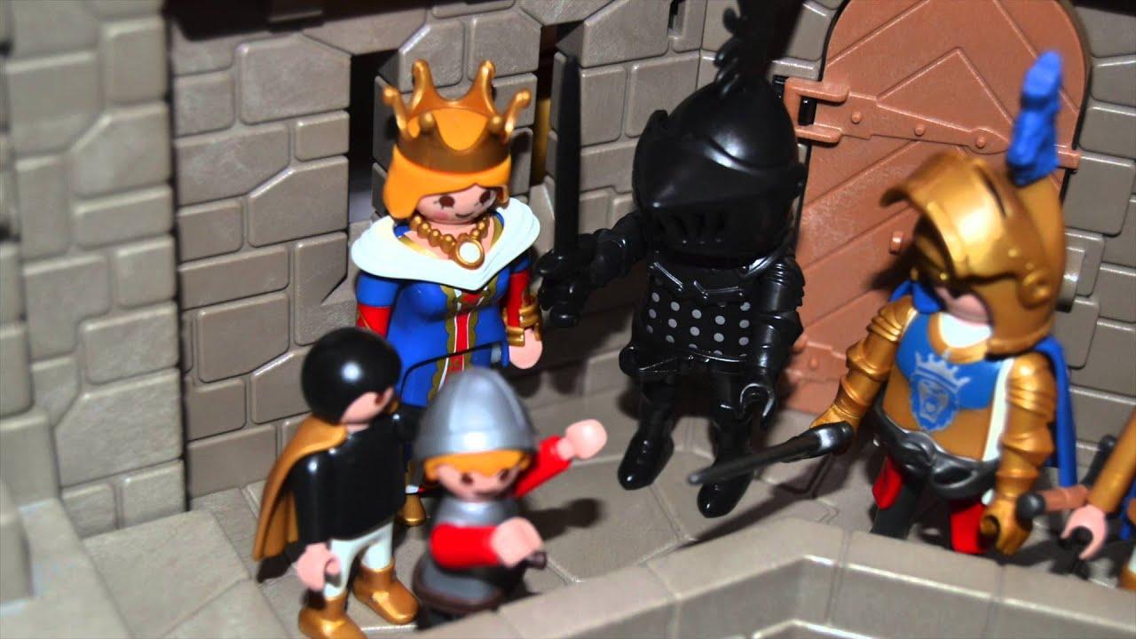 Le petit page et baban une histoire playmobil chevalier - Chateau chevalier playmobil ...
