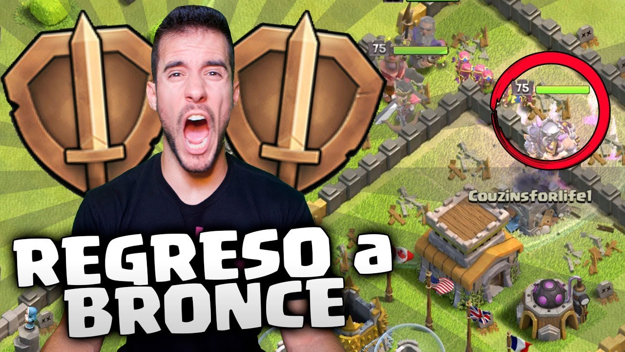 2º INTENTO: CONSEGUIR el LOGRO mas DIFICIL   CLASH OF CLANS