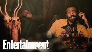 Donald Glover On Charming The Hell Out Of 'Solo: A Star Wars Story' | Entertainment Weekly