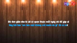 Buồn như anh (Karaoke) - Lil'S