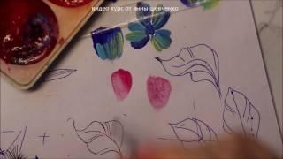 Все секреты росписи ногтей. Видео курс